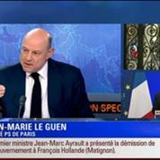 19H Ruth Elkrief Édition spéciale sur le futur remaniement: Hollande a nommé Manuel Valls à la tête du prochain gouvernement 1/6