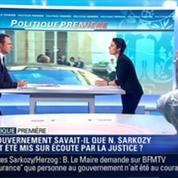 Politique Première: Écoutes de Sarkozy: Est-ce que le gouvernement était au courant ?