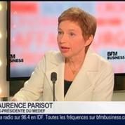 Laurence Parisot, ancienne présidente du Medef et vice-présidente de l'Ifop, dans Le Grand Journal 4/4