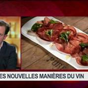 1001 manières de déguster: grands crus et belles étiquettes face aux vins nature, dans Goûts de luxe Paris – 7/8