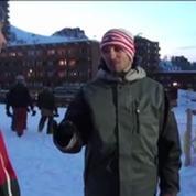Renaud Lavillenie en détente à La Plagne
