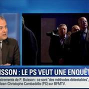 BFM Story: Nicolas Sarkozy enregistré par Patrick Buisson: c'est une méthode détestable