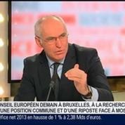 Thierry Repentin, ministre délégué chargé des Affaires européennes, dans Le Grand Journal 1/4