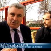 Frédéric Cuvillier, un ministre en campagne à Boulogne-sur-Mer