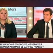 Matthieu Pigasse, directeur général de la banque Lazard France, dans Le Grand Journal 3/3