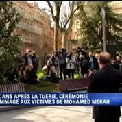 Deux ans après la tuerie, la cérémonie d'hommage aux victimes de Mohamed Merah