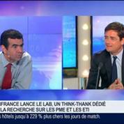Bpifrance lance Le Lab, une laboratoire d'idées dédiée aux PME et ETI: Nicolas Dufourcq, dans GMB –