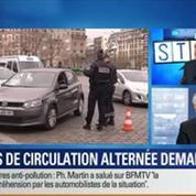 BFM Story: La circulation alternée en Île-de-France ne sera pas reconduite mardi