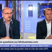 Hollande: après la sanction, quelle réaction ?, dans Les Décodeurs de l'éco 1/5