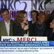 Municipales : NKM remercie son équipe et félicite Anne Hidalgo