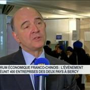 Pierre Moscovici qualifie l'accord entre Dongfeng et PSA d'historique
