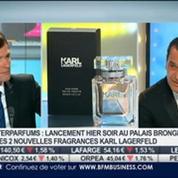 Interparfums: lancement des 2 nouvelles fragrances Karl Lagerfeld: Philippe Bénacin, dans Intégrale Bourse