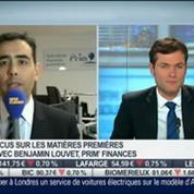 Focus sur les matières premières: la chute des cours du cuivre: Benjamin Louvet, dans Intégrale Bourse
