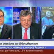 Assurance-chômage: la fin de l'âge d'or ?, dans Les Décodeurs de l'éco 3/5