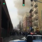 New-York : Un immeuble s'effondre après une explosion