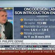 Oncodesign lance son introduction en Bourse: Dr. Philippe Genne, dans Intégrale Bourse –
