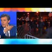 Municipales : incidents devant le QG d'Anne Hidalgo