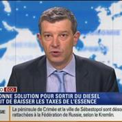 L'Édito éco de Nicolas Doze: Pollution: La bonne solution serait de baisser les taxes de l'essence