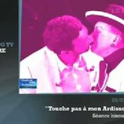 Zapping TV : Hanouna embrasse Geneviève de Fontenay sur la bouche