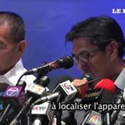 Malaysia Airlines : «La priorité reste de localiser l'appareil»