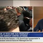 Le Soir BFM: Écoutes: la contre-attaque de Nicolas Sarkozy dans le Figaro 1/3