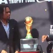 Pelé et la Coupe du monde de passage à Paris