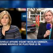 Nicolas Sarkozy sur écoute: Marine Le Pen s'étonne de la multiplication des affaires à l'UMP