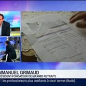 Baromètre de Maximis Retraite: 50% des quinquagénaires n'ont aucune idée de leur future retraite: Emmanuel Grimaud, dans GMB –