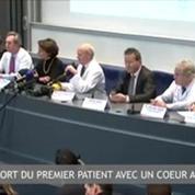 Zapping de l'Actualité La mort du 1er patient avec un cœur artificiel, le Brésil en retard pour le Mondial