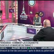 La tendance du moment: Comment la e-cigarette bouscule le marché du tabac? dans Paris est à vous –
