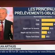 E. Lechypre: le match entre le programme économique de François Hollande et celui de Jean Arthuis