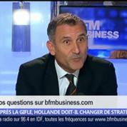 Après la gifle, Hollande doit-il changer de stratégie ?, dans Les Décodeurs de l'éco 5/5