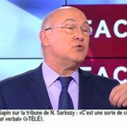 Sapin compare Sarkozy à Berlusconi