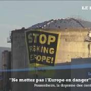 Les images de l'action Greenpeace dans la centrale de Fessenheim