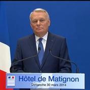 Municipales 2014: les quinze secondes de blanc de Jean-Marc Ayrault