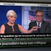Top Média : une journaliste tacle son collègue en direct