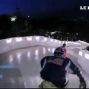 Ice Cross : découvrez le patinage de descente extrême