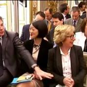 Quand des ministres ricanent du pseudo de Sarkozy