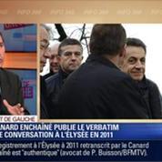 Direct de Gauche: Affaire Buisson: le Canard enchaîné publie le verbatim d'une conversation à l'Élysée en 2011