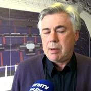 Document RMC Sport / Ancelotti : Zidane sera un très grand entraîneur