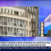 Crédit Foncier: bilan du marché immobilier en 2013 et prévisions pour 2014: Bruno Deletré, dans GMB –