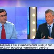 Eurotunnel vise un Ebitda de 500 millions d'euros pour 2015: Jacques Gounon, dans GMB –