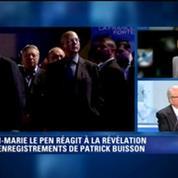 Enregistrements de Buisson: pour Jean-Marie Le Pen tout ce qui nuit à nos adversaires profite au FN