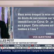 Les réponses de Gilles Petit aux auditeurs, dans Intégrale Placements –