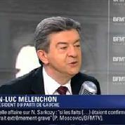 Jean-Luc Mélenchon : «S'il y a un problème avec Nicolas Sarkozy, c'est forcément à droite»