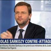 BFM Story: Affaire des écoutes téléphoniques: Nicolas Sarkozy contre-attaque dans une tribune au Figaro
