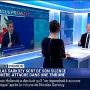 Politique Première: Nicolas Sarkozy sort de son silence et publie une tribune dans Le Figaro