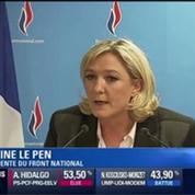 Marine Le Pen annonce la naissance d'une