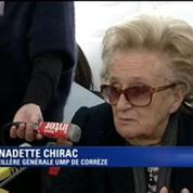 Bernadette Chirac sur le redécoupage cantonal : «Il est possible que mon âge ait joué»