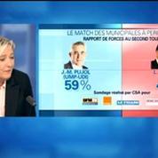 Marine Le Pen tacle les instituts de sondage